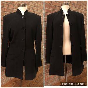 Anne Klein II 100% early 90's Silk blazer